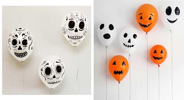 Halloween balloons 1