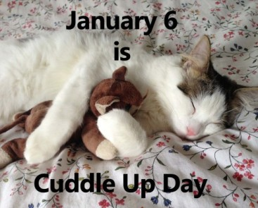 Cuddle up day