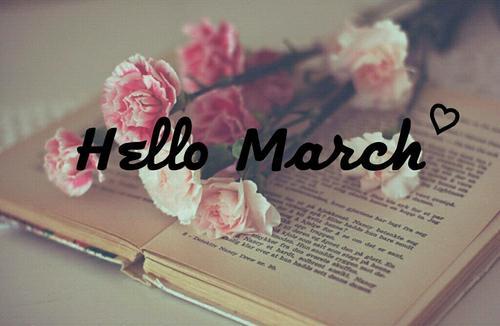 Hello March 2