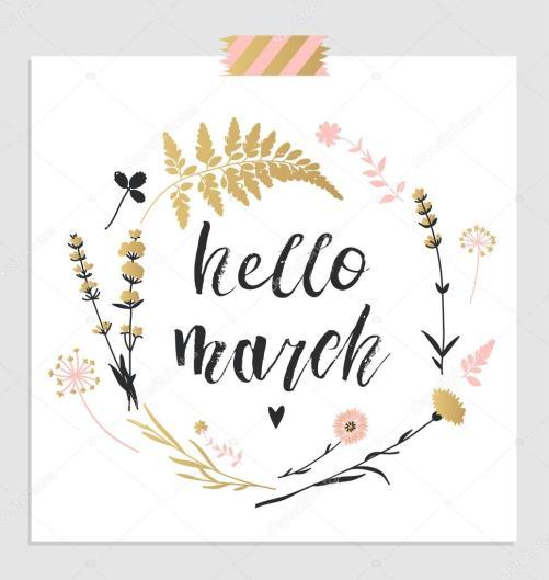 Hello March 3